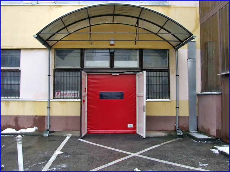 Ipari gyorskapu referencia - Sarstedt Kft