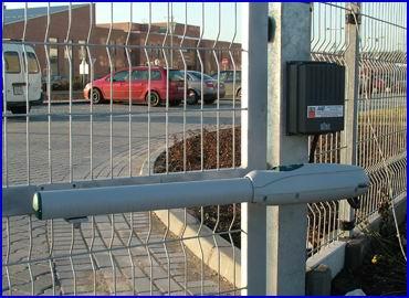 DITEC LUXO ipari kapunyitó nagyméretű és nagy súlyú szárnyas kapukra, intenzív használatra