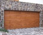 EUROHOLZ fa szekcionált garázskapu