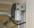 DITEC DOD ipari kapunyitó motor szekcionált kapukhoz, ipari kapu automatizálás