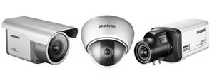 SAMSUNG professzionális biztonsági kamerák megfigyelő rendszerekhez