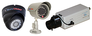 EUROVIDEO biztonsági kamerák megfigyelő rendszerekhez