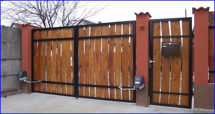 FACIL csukl�karos kapunyit� automatika deszk�zott kapun