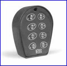 Vezetékes kódkapcsoló SILVER kapunyitó automatikához