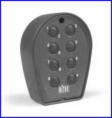 Vezeték nélküli rádiós kódkapcsoló SILVER kapunyitó automatikához