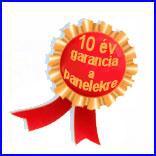 10 �v garancia a gar�zskapu panelekre