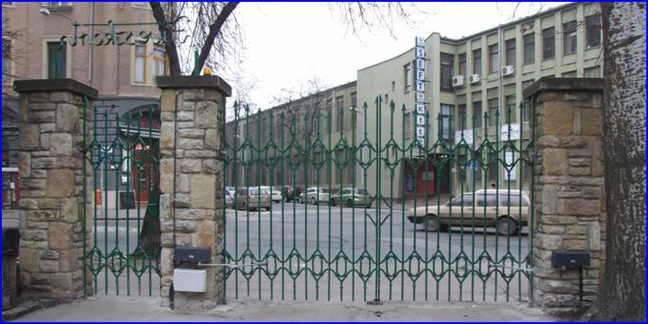 DITEC ARC kapumozgatók motor a Fűvészkert kapuján