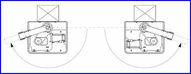 CUBIC süllyesztett kapunyitó akár 180°-os nyitást is tud