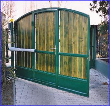DITEC LUXO kapunyitó nagyméretű és nagy súlyú kapukra is