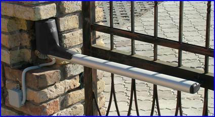 Vastag kapuoszlopok esetében besüllyeszthető
