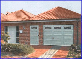 A Hörmann garázskapuk mellékajtóval is rendelhetők