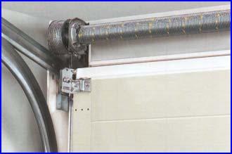 LTE40 H�rmann gar�zskapu torz� rug�s kialak�t�ssal 3 m�teres sz�less�gt�l