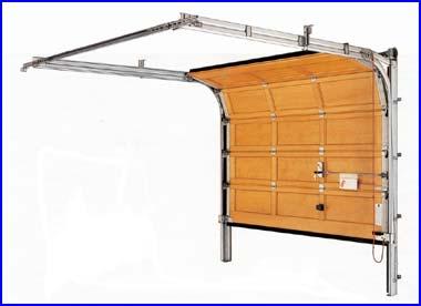 H�rmann fa gar�zskapu szerkezeti fel�p�t�se
