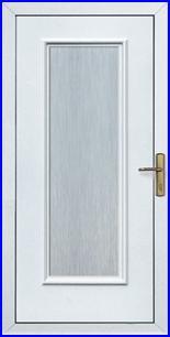 Műanyag bejárati ajtó panel