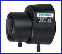 COMPUTAR TG3Z2910FCS - Megfigyelő rendszer - biztonsági kamera optika