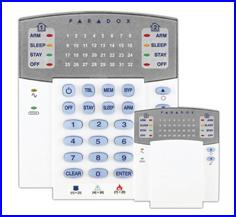 PARADOX riasztó rendszer - ESPRIT riasztó K32 LED kezelő