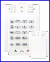 PARADOX riasztó rendszer - ESPRIT riasztó K10V kezelő