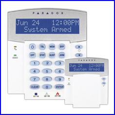 PARADOX riasztó rendszer - SPECTRA riasztó K32 LCD kezelő