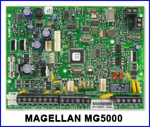 PARADOX riasztó rendszer - MAGELLAN MG5000 riasztó