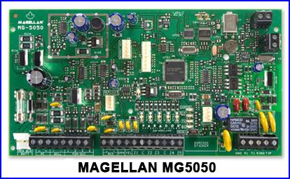PARADOX riasztó rendszer - MAGELLAN MG5050 riasztó