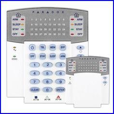 PARADOX riasztó rendszer K32 LED kezelő