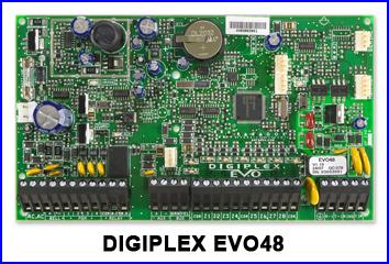 PARADOX riasztó rendszer - DIGIPLEX EVO48 riasztó
