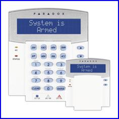 PARADOX riasztó rendszer K32 LCD kezelő
