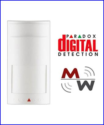 PARADOX riaszt� rendszer - PARADOX 525D vezet�kes mozg�s�rz�kel�