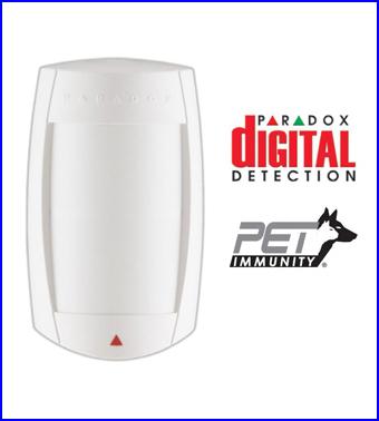 PARADOX riasztó rendszer - PARADOX DG75 vezetékes mozgásérzékelő