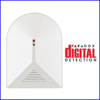 PARADOX riasztó rendszer - PARADOX DG457 vezetékes üvegtörés érzékelő