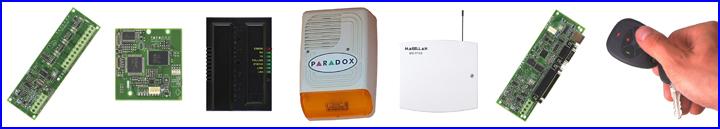 PARADOX riasztó rendszer kiegészítők