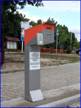 Fizető parkoló rendszer