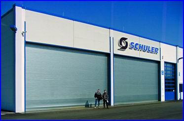 Teckentrup ipari redőnykapu 11 méteres szélességig bármilyen egyedi méretben
