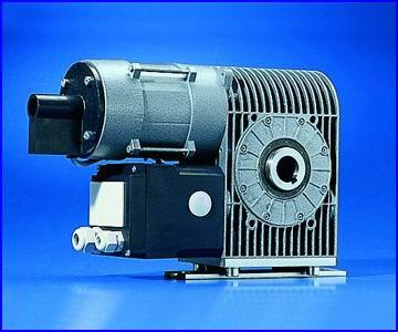 Teckentrup redőnykapu motor tengelyvégi hajtóművel