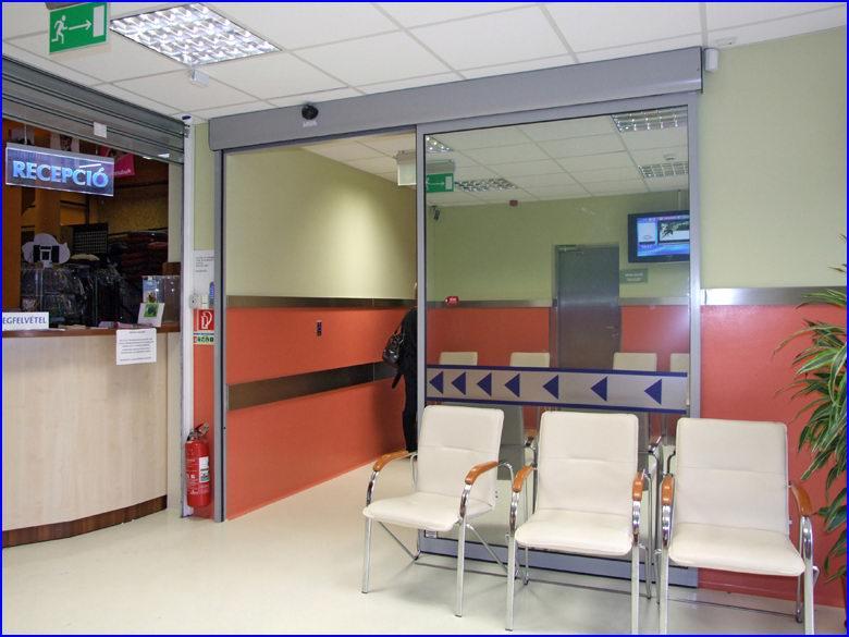 Automata ajtó referencia - Alpha-Vet állatkórház