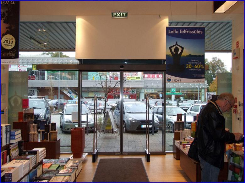 Automata ajtó referencia - Libri könyvesbolt