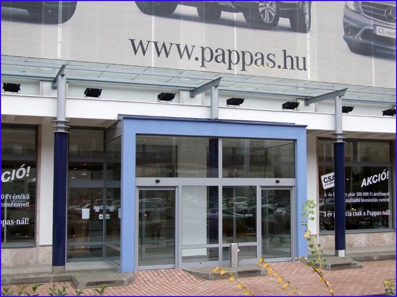 Automata ajtó referencia - Pappas Auto Magyarország Kft