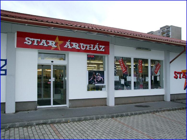 Automata ajtó és üvegportál referencia - Star Áruház