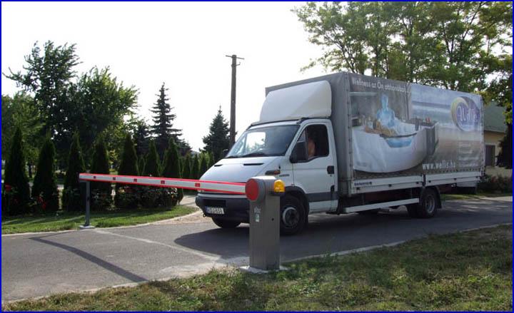 DITEC QIK-7EH sorompó a Wellis telephelyén Dabason