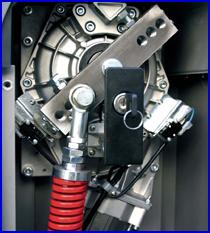 DITEC sorompó - intenzíven terhelhető motor és hajtómű
