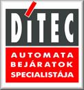 DITEC - az Automata Bejáratok Specialistája