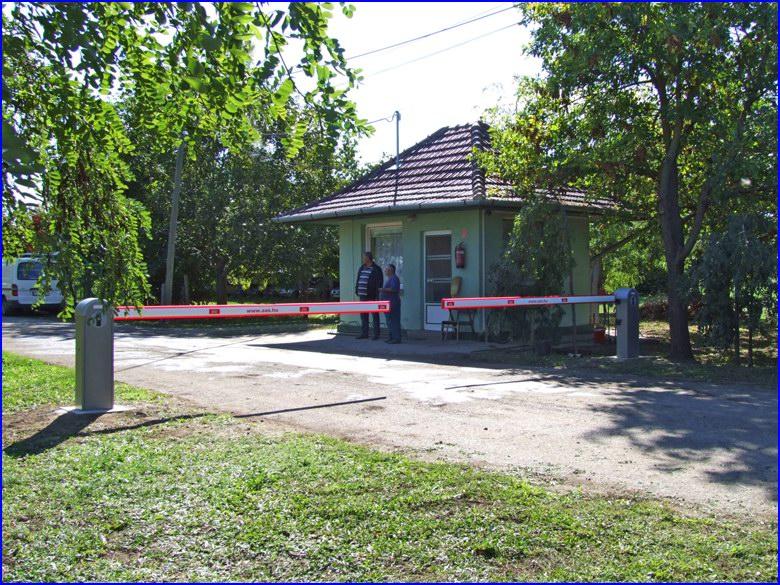 DITEC sorompó referencia és a Kardoskút Zrt portája