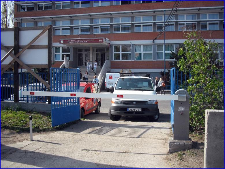 Sorompó referencia - Budapesti Gazdasági Főiskola