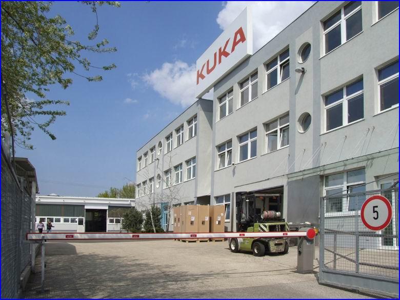 Sorompó referencia - Kuka Robotics Ipari Kft