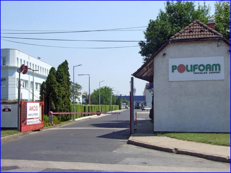 Sorompó referencia - Polifoam Kft