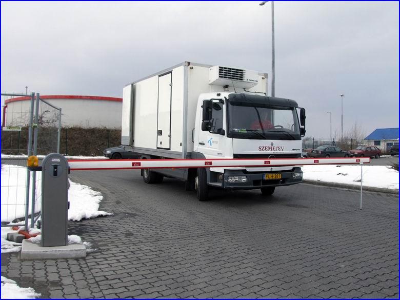 Sorompó referencia - Szemerey Transport ZRt