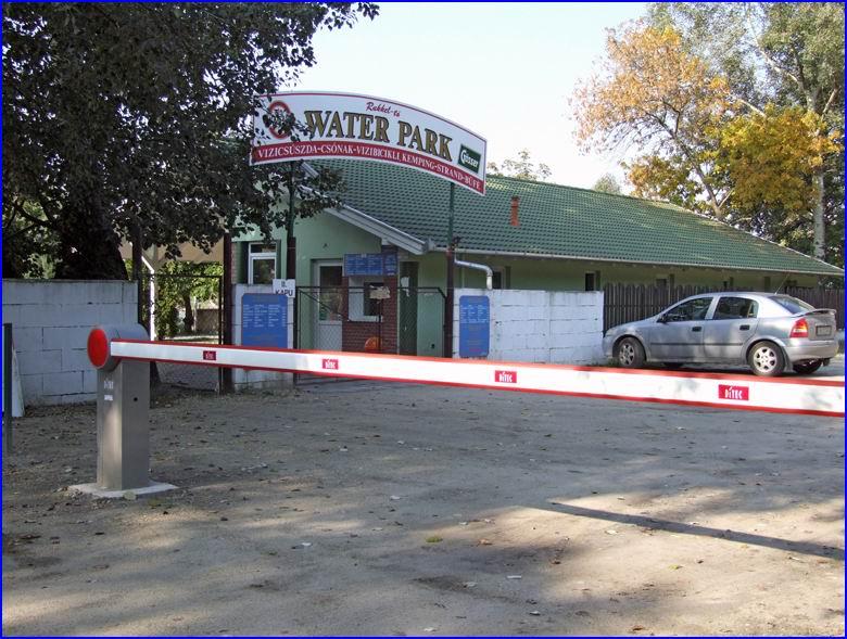 Sorompó referencia - Waterpark