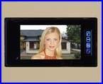 FUTURA nagyképernyős - 17,5 cm-es - színes, videós kaputelefon.