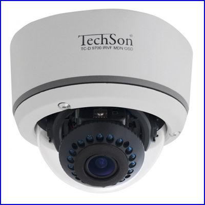 Techson TC-D9700 IRVF MDN OSD biztons�gi kamera