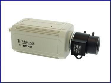 Techson TC-6600 WDR HLC biztons�gi kamera